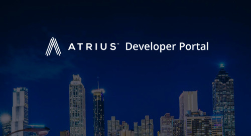 Atrius Developer Portal - Your IoT Destination of Choice