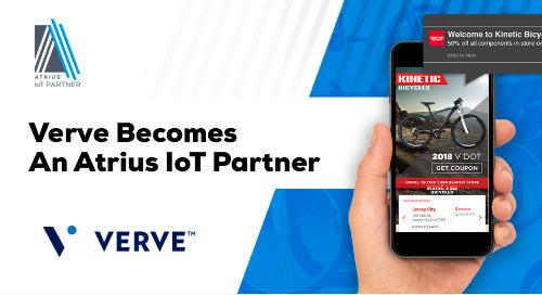 Verve Becomes An Atrius IoT Partner