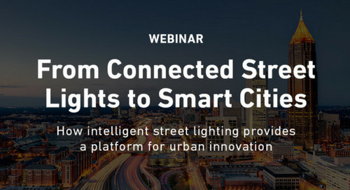 Webinar: From Connected Street Lights to Smart Cities