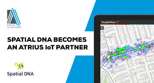 Spatial DNA Becomes Atrius™ IoT Partner To Deliver Leading Enterprise System Integration