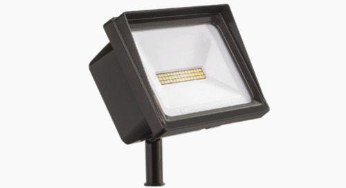 NEW! QTE LED is Versatile and Energy-Efficient - Floodlighting Done Right