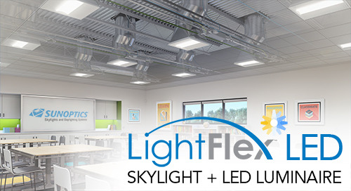 New! LightFlex™ Tunable-White LED Tubular Daylighting System
