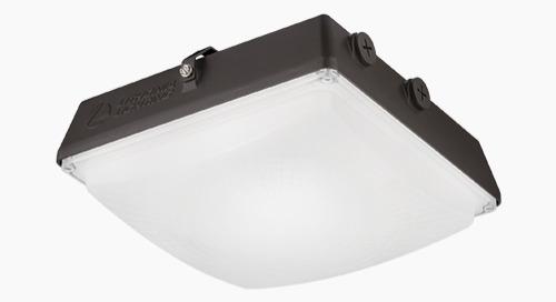 CNY LED Canopy Provides Matchless Value and Versatility