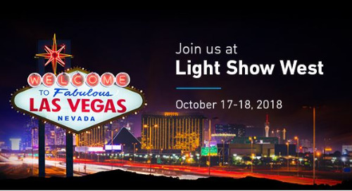 Join us at LightShow West 2018