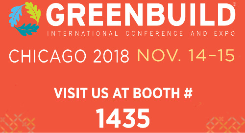 See you at Greenbuild 2018!
