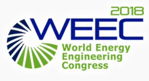 Visit us at WEEC 2018