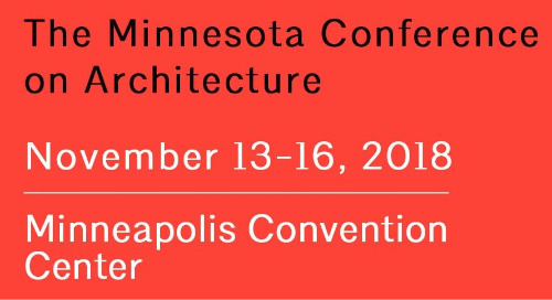 Minnesota Conference on Architecture 2018