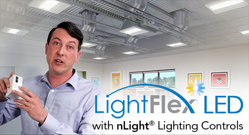 nLight® Controls Demo: LightFlex™ LED Tubular Daylighting System