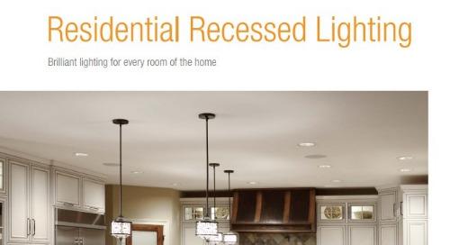 Juno Residential Recessed Lighting Catalog