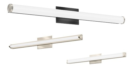 Dimmable LED Vanities with Switchable White