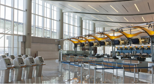 Acuity Brands Illuminates New LEED Certified Atlanta Airport International Terminal