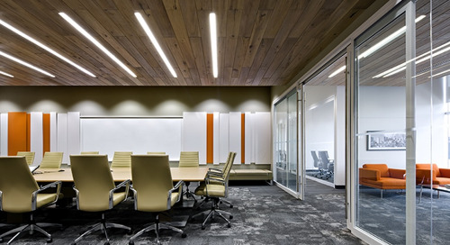 Award-Winning Open Office Uses a Variety of Acuity Brands Lighting Solutions