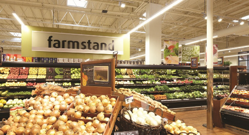 Sustainable grocer installs LED lighting, controls and daylighting to enhance retail environment