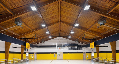 North Carolina School District Refreshes Gymnasiums with LED Lighting