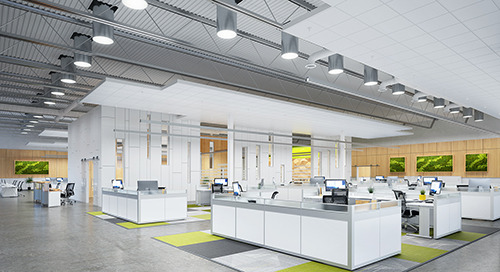 Sunoptics LightFlex LED for Open-Ceiling Applications