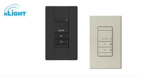 Drive More Business in Architectural Spaces with the nLight® Wall Switch Refresh!