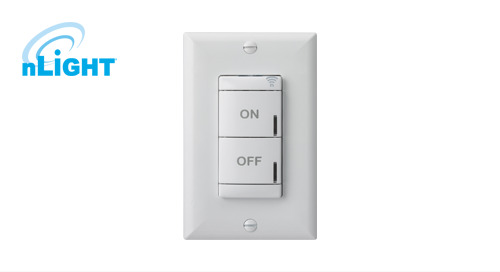 nLight® AIR Line-Powered Switch – Now Available!
