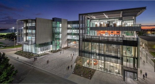 IES's 2018 Lighting Control Innovation Award of Merit Goes to the University of Texas at Dallas Engineering & Computer Science West Building
