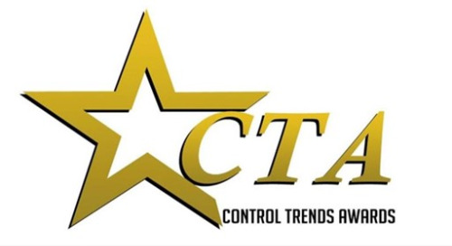 Four Distech Controls and Acuity Brands Leaders Honored by ControlTrends; Both Companies Receive Awards for BAS Controls Innovation