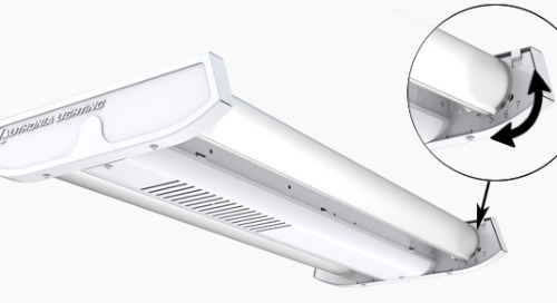 I-BEAM® IBG - The industry's best linear high bay gets even better!