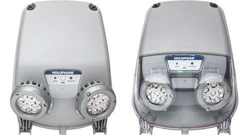 New! DeSoto™ DSL3 & DSL46 Industrial LED Emergency Lights for Wet and Damp Environments