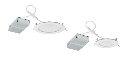 Wafer™ LED Recessed Downlight Featuring Non-Conductive Trim Design