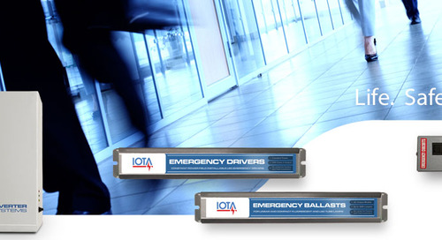 IOTA® is Now on AcuityBrands.com and in Agile