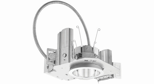 Lithonia LDN4 and LDN6 Downlights Added to the Contractor Select™ Program