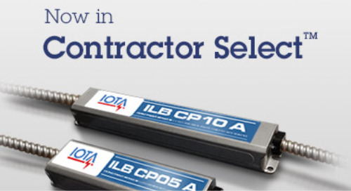 IOTA® Emergency Solutions Now in Contractor Select™