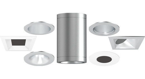 "New Gotham 2"" Downlights and Cylinders"