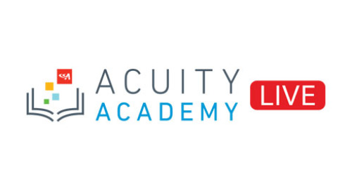 Acuity Academy Live Webinars: Coming Soon!