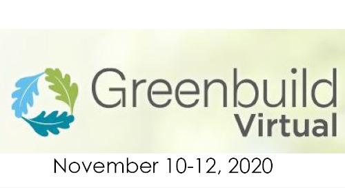 Greenbuild Virtual 2020