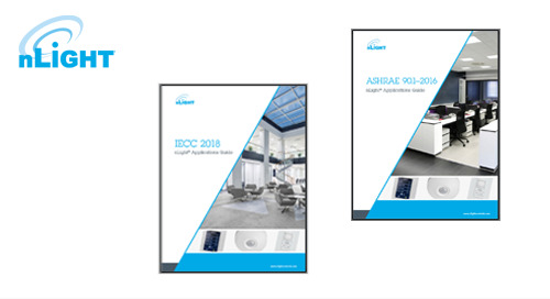 Make Design & Specification Easier - Updated nLight® IECC 2018 & ASHRAE 2016 App Guides