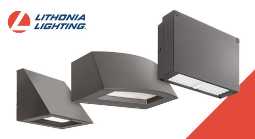 All-New Wall-Mounted Lighting Portfolio from Lithonia Lighting®