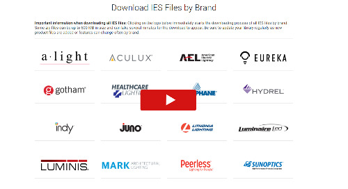 NEW: IES File and BIM Model Downloads by Brand