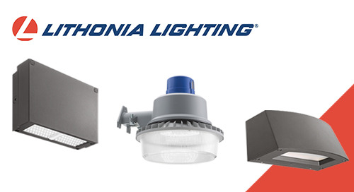 Exciting Summer Launches from Lithonia Lighting® Outdoor!