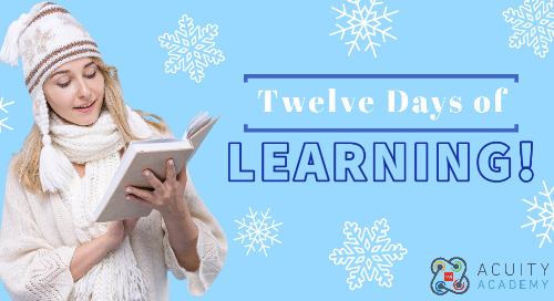 12 Days of Learning by Acuity Academy