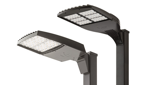 Outdoor Area Luminaires now with XVOLT Driver Option