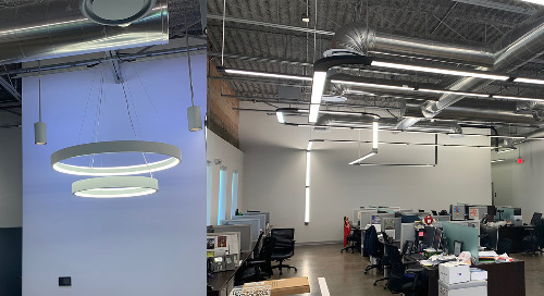 LESCO Lighting Technology™ – Providing Expert Indoor Architectural Lighting in a Modern Workplace