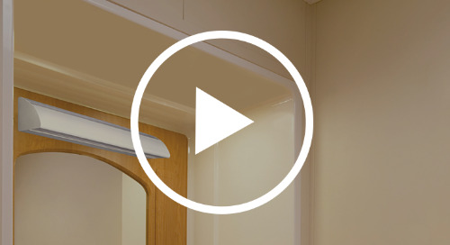 Archer LED from Healthcare Lighting® with Tommy