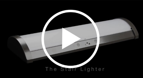 The Stair Lighter from Luminaire LED with Tara