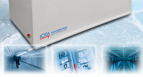 Using IOTA® Mini-Inverters for Outdoor Emergency Lighting