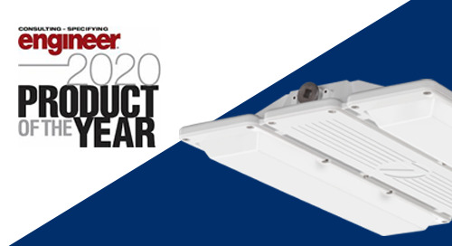 Reintroducing the Award-Winning, Sleek and Powerful XIB LED High Bay by Lithonia Lighting ®!!