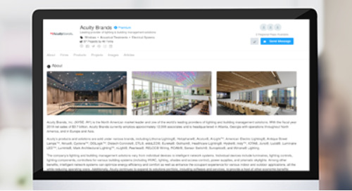 Acuity is Now on Architizer!