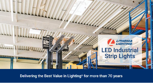 The Lithonia Lighting® Strips Family Page is NOW LIVE!