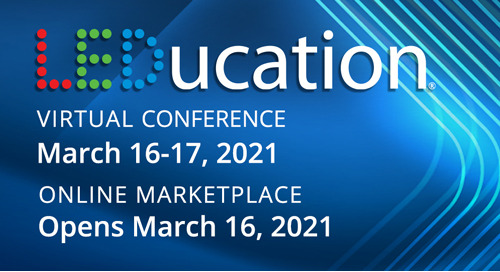 Join IOTA® at LEDucation Virtual Conference, March 16-17th!