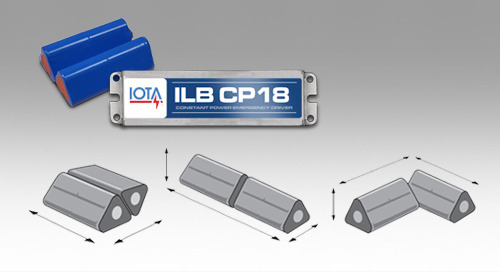New IOTA® Cold Weather Emergency Driver Features a Versatile Battery Design