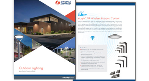 NEW! Lithonia Lighting® Outdoor Specification Solutions Guide