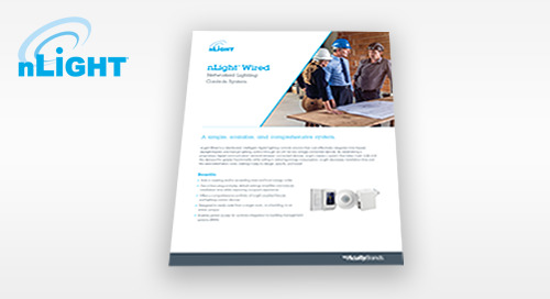 New nLight® Wired Sell Sheet Now Available!