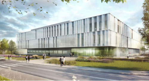 Medical biology division at the CHU hospital - Reims, France